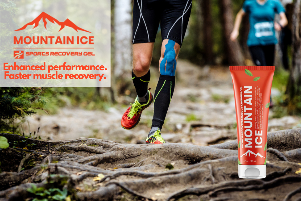 Mountain Ice Sports Recovery gel