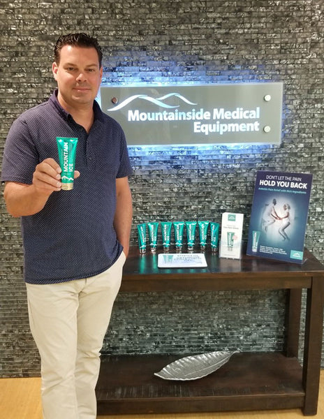 The Man who Invented Mountain Ice Pain Relief Gel