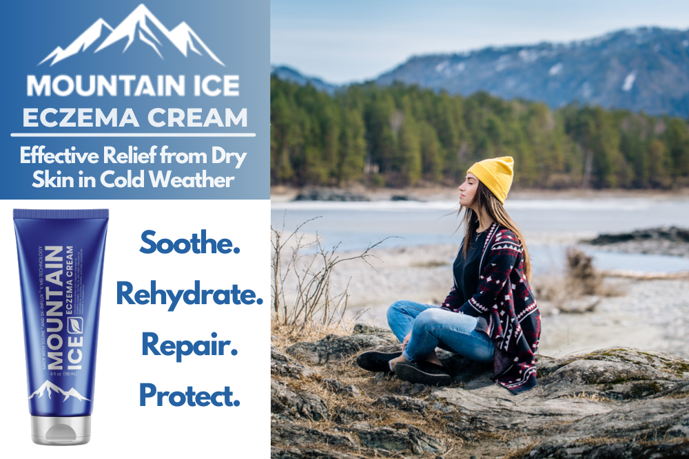 Mountain Ice Eczema Cream for Effective Cold Weather Autumn Fall Eczema Relief
