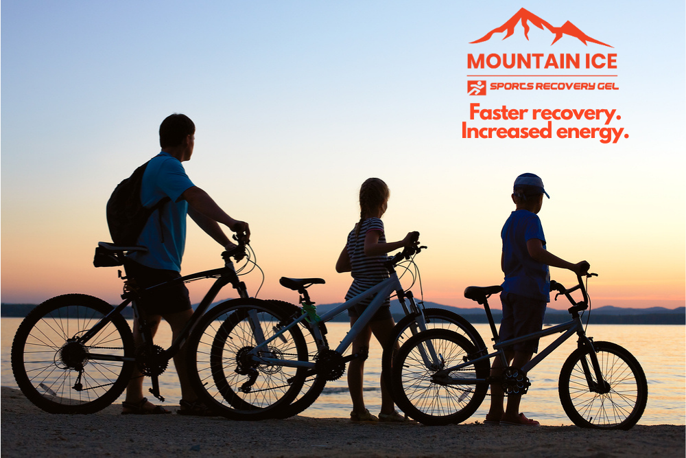 Family Fitness Plan with Mountain Ice for Move More Month