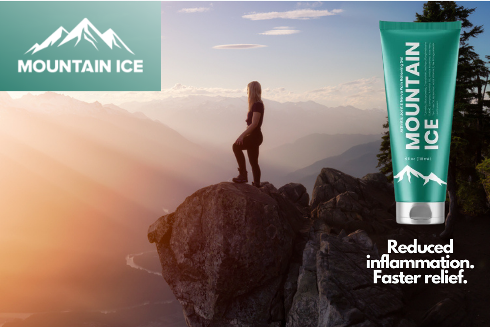 Mountain Ice Pain Relief Gel for Lupus Flareups