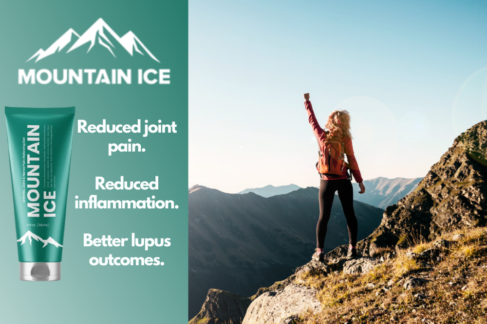 Relief from Lupus Pain and Inflammation with Mountain Ice Pain Relief Gel