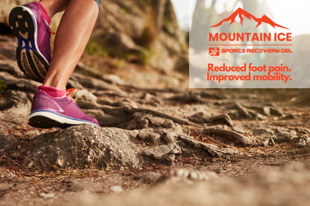 Get Plantar Fasciitis Relief with Mountain Ice Sports Recovery Gel