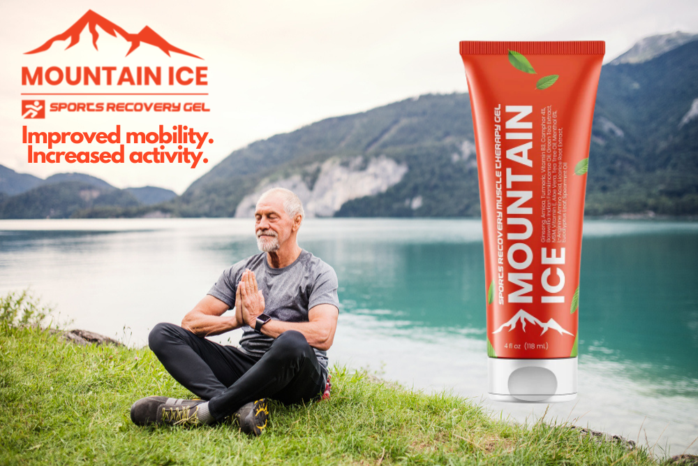Mountain Ice Sports Recovery Gel for Senior Fitness