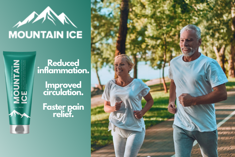 Sun Safe Ingredients in Mountain Ice Pain Relief gel