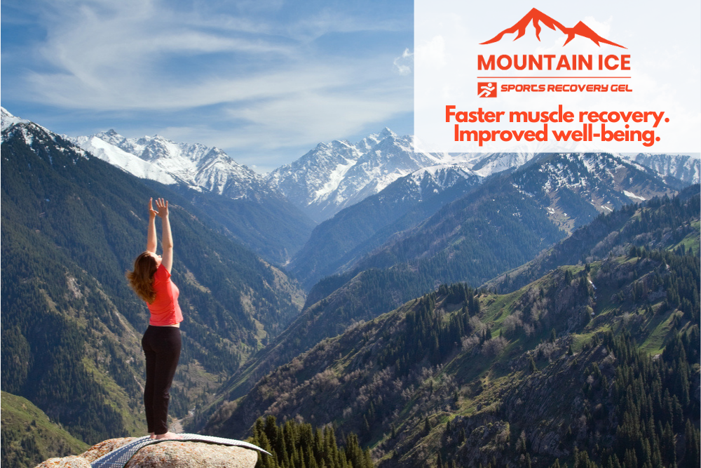 Mountain Ice Sports Recovery Gel Exercise for Reduced Stress