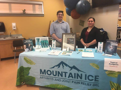 Mountain Ice Health Fair Display