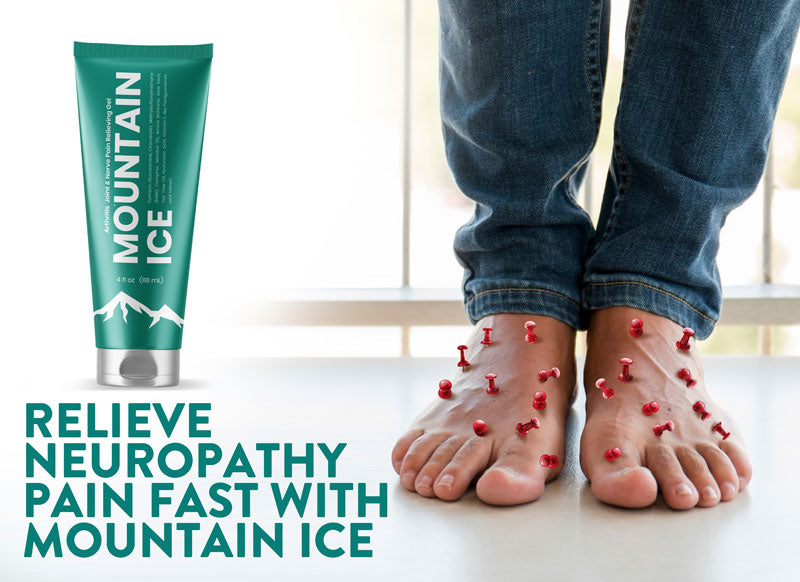 Relieve Neuropathy Pain Fast with Mountain Ice