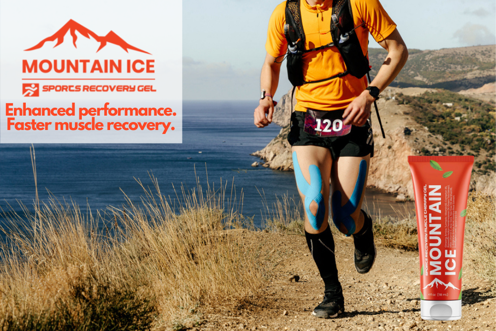 Mountain Ice Sports Recovery Gel for Running Leg Injuries
