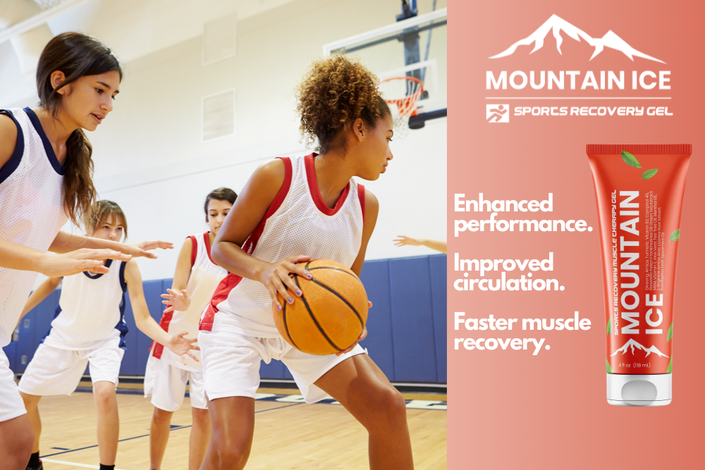 Mountain Ice Sports Recovery Gel for Better Youth School Sports Recovery