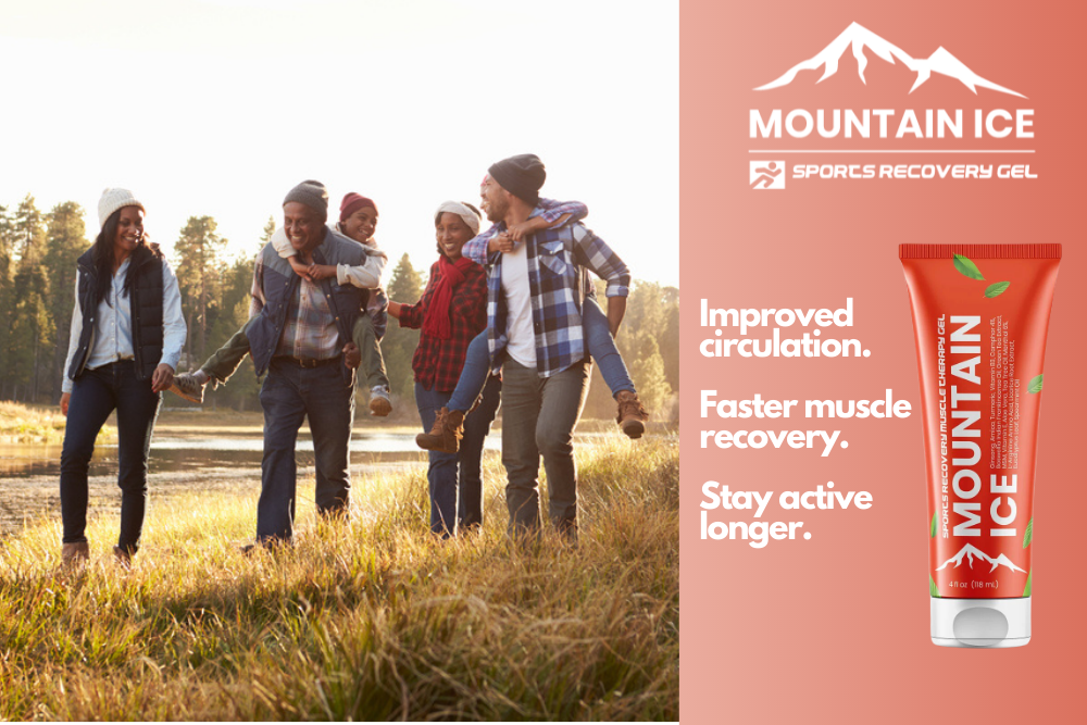 Creating a Fall Family Fitness Plan with Mountain Ice Pain Relief and Sports Recovery Gel