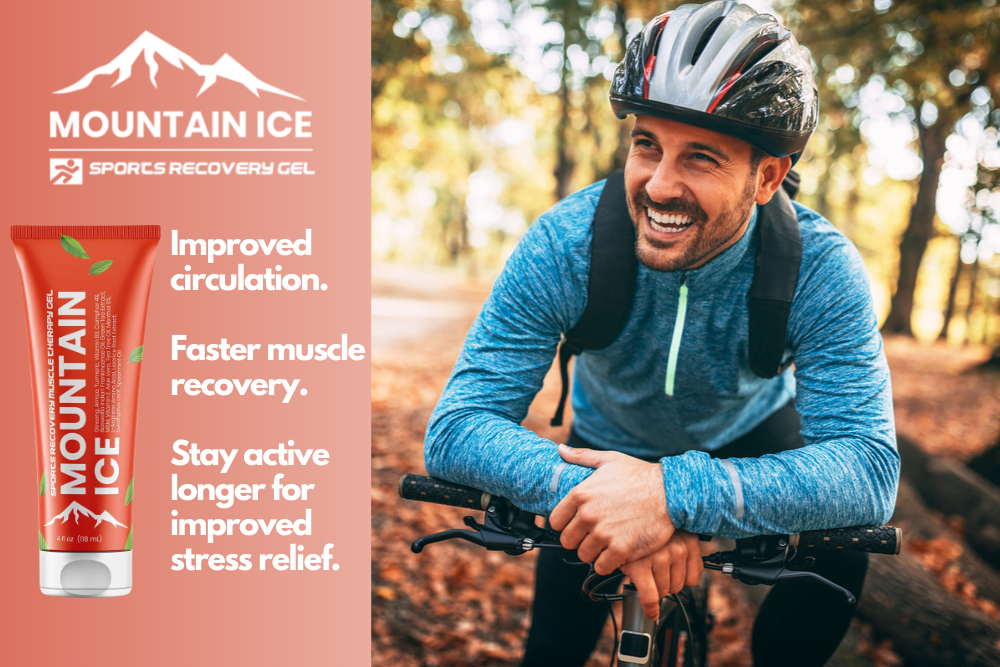 Mountain Ice Sports Recovery Gel for Exercise Stress Relief