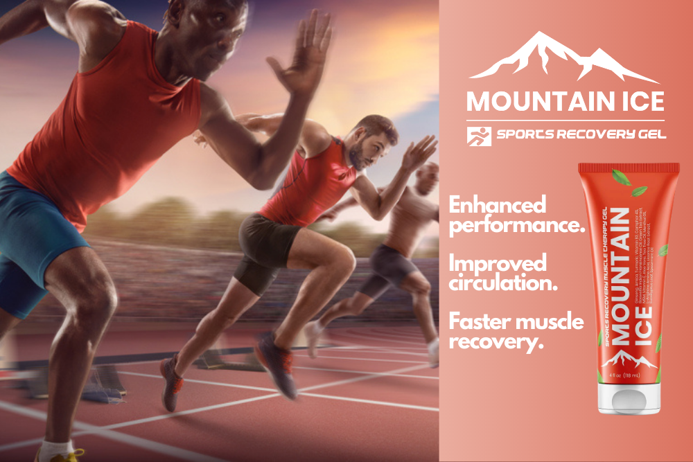 Reduce Pain from Running Injuries with Mountain Ice Sports Recovery Gel