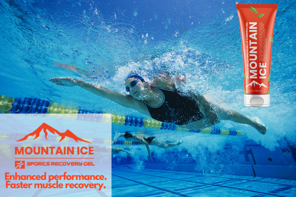 Mountain Ice Sports Recovery Gel for Swimming Injuries