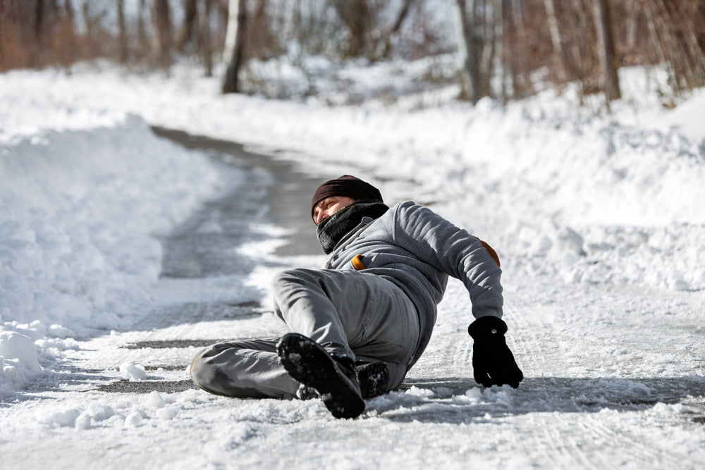 Ice Snow Slip Fall Safety Prevention