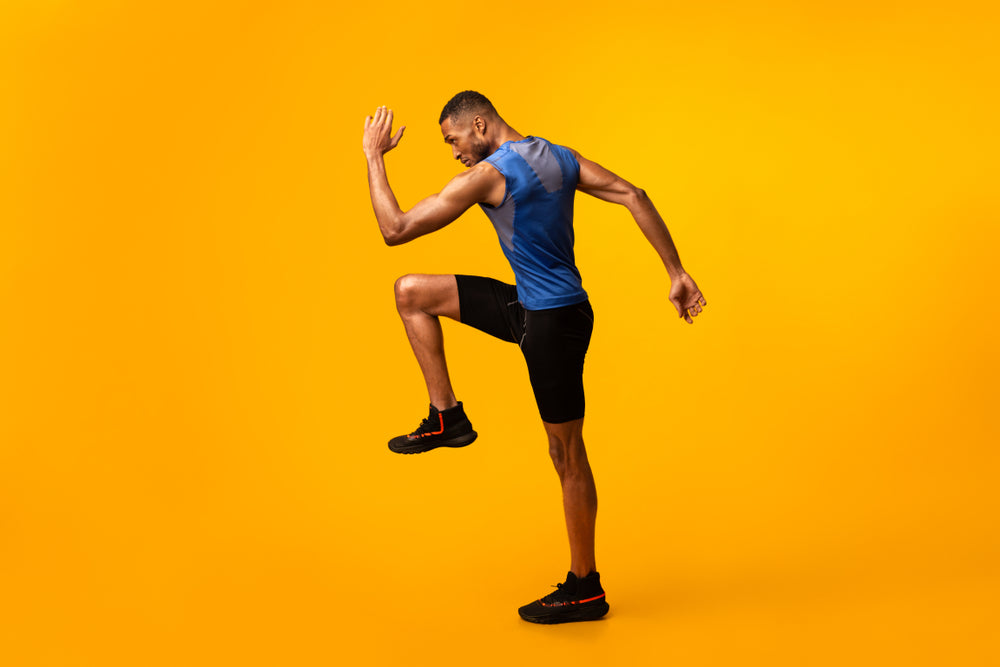Step Up Exercises to Improve Knee Strength and Reduce Knee Pain with Mountain Ice Sports Recovery Gel
