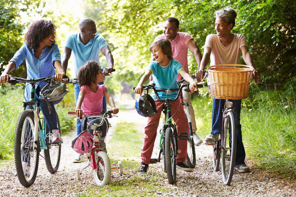 Outdoor Family Bicycle Ride for Move More Month