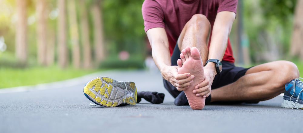 Get Relief from Plantar Fasciitis with Mountain Ice Sports Recovery Gel