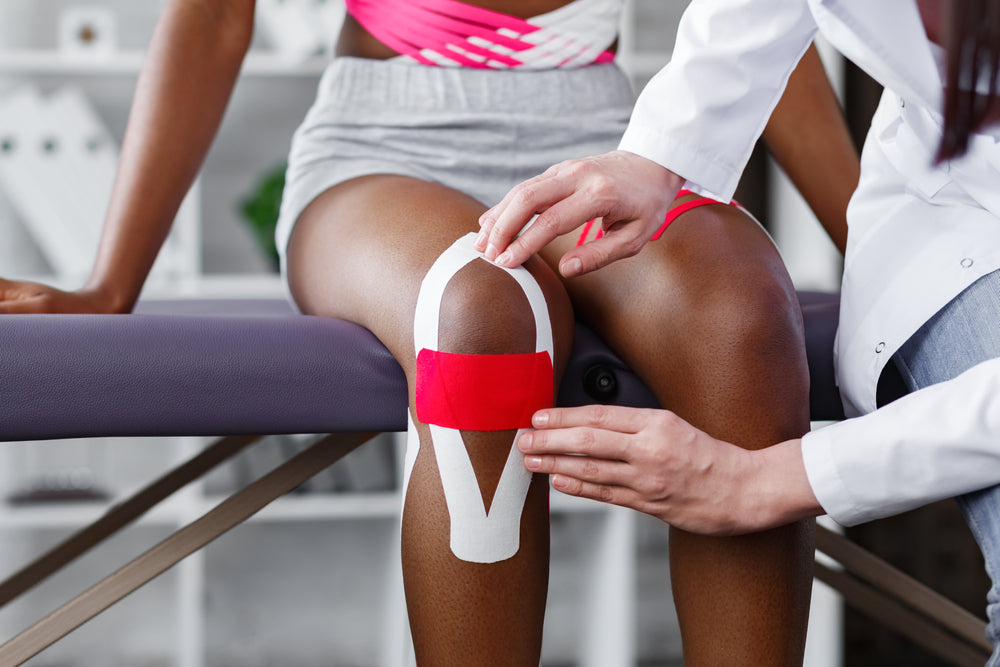 Kinesiology Tape and Mountain Ice Sports Recovery Gel