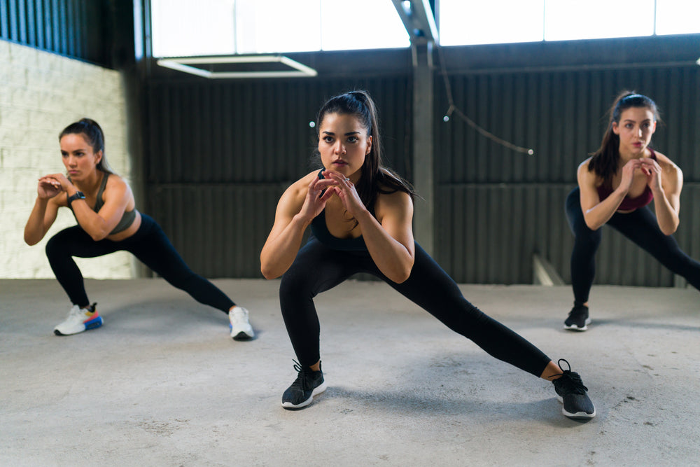 Lateral Lunge Exercises to Improve Knee Strength and Reduce Knee Pain with Mountain Ice Sports Recovery Gel