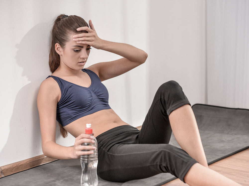 Dehydrated Exercising Sick