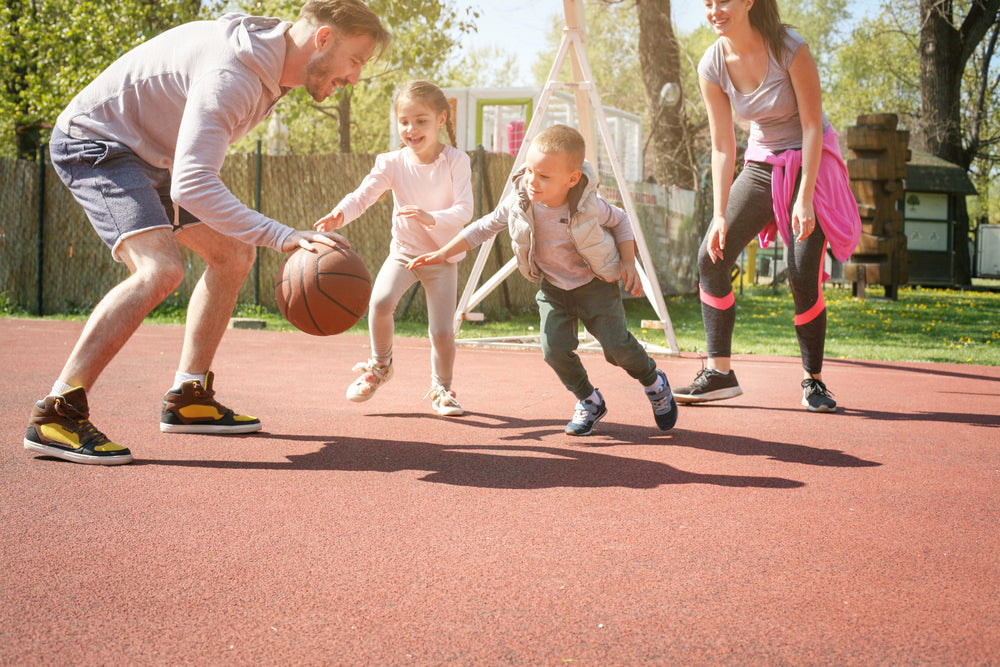 Outdoor Sports Family Exercise For Spring