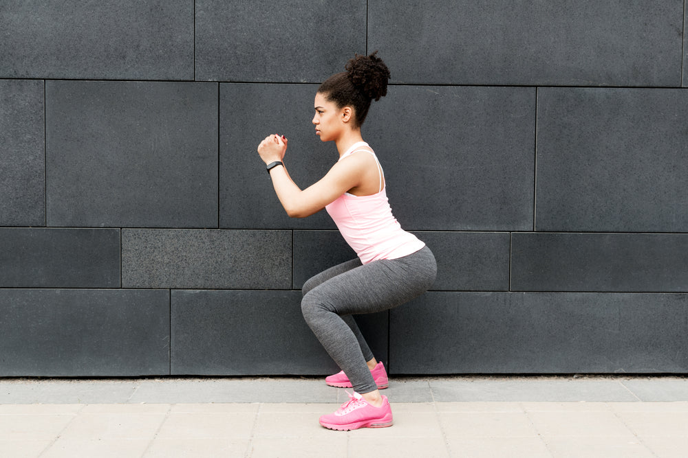 Squat Exercise to Improve Knee Strength and Reduce Knee Pain