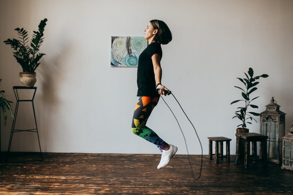 Jump Rope Workout Indoor Winter Exercise