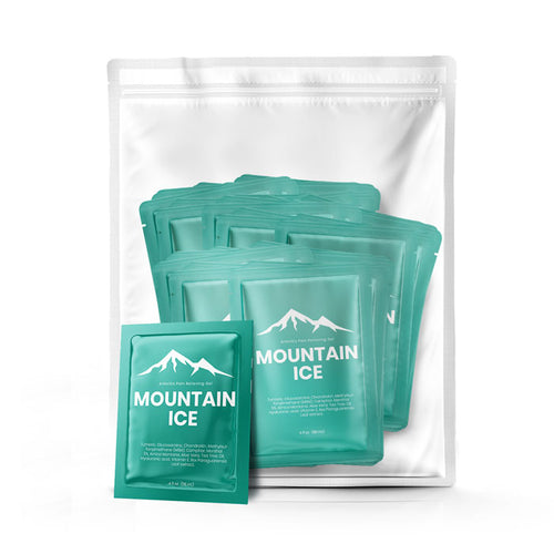 Mountain ice Pain Gel Pack of (100) Samples