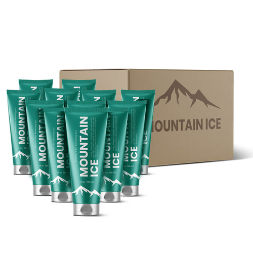 Mountain Ice Pain Relief Gel (Case of 12 Tubes)