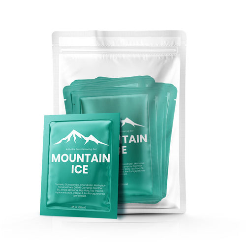 Mountain ice Pain Gel Pack of (50) Samples