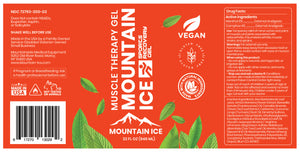 Mountain Ice Sports Recovery Muscle Therapy Gel 32oz Pump Bottle - Anti-inflammatory, Arnica Montana Flower Extract, blood circulation, Camphor, Hyaluronic Acid, improve blood flow, improve c