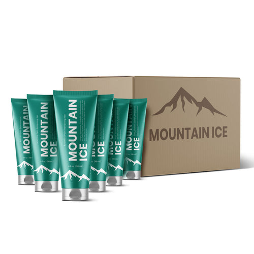 Mountain Ice Pain Relief Gel (Case of 6 Tubes)