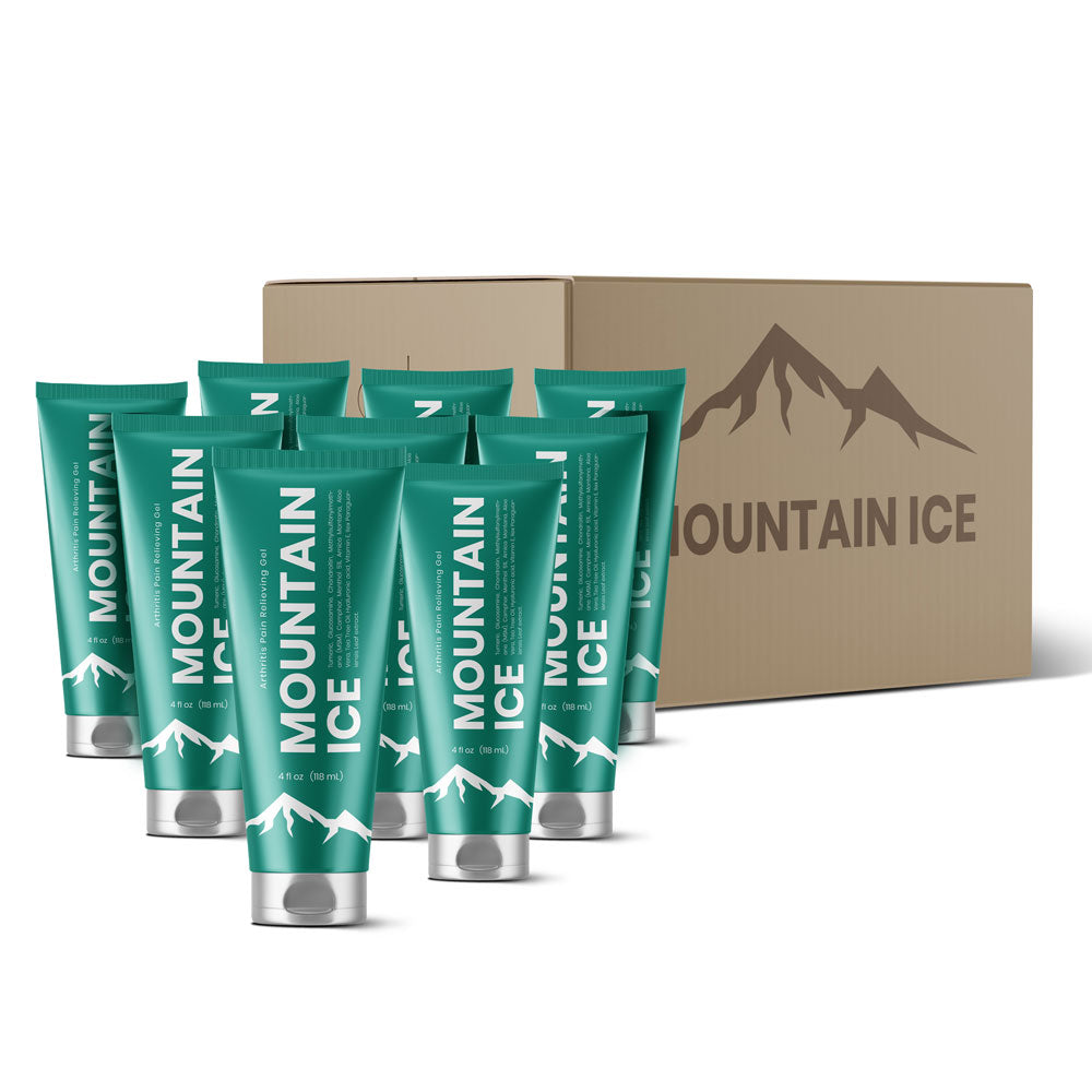 Mountain Ice Pain Relief Gel (Case of 9 Tubes)
