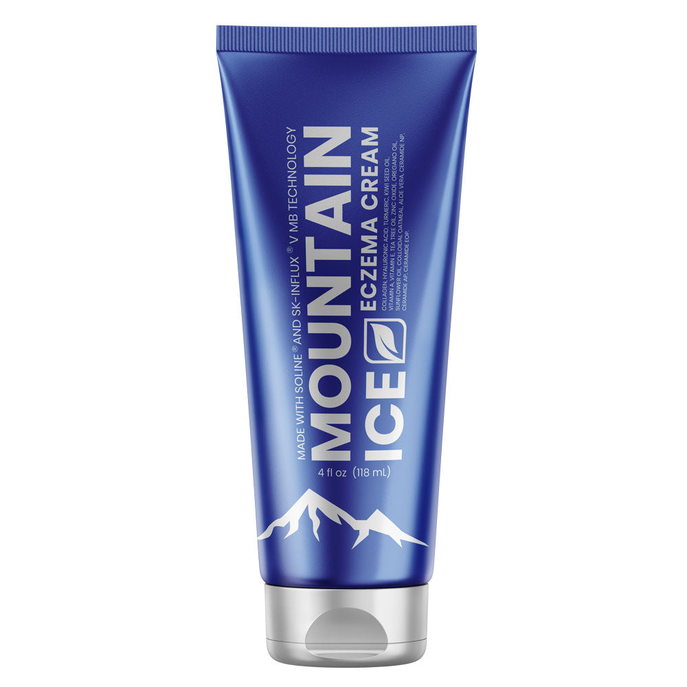 Coming in May - Mountain Ice Eczema Cream with SOLINE and SK-INFLUX V MB Technology - Eczema Cream, Eczema Treatment, Mountain Ice, Treat Eczema