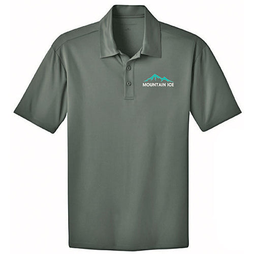 Mountain Ice Polo Shirt with Silk Touch Performance Flex Fabric