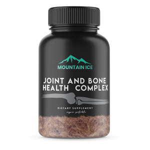 Mountain Ice Bone and Joint Health Complex, 60 Count - Bone Health, Joint Health, Mountain ice, Supplement