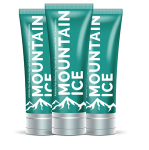 Mountain Ice All Natural Pain Relief Gel - 3 Pack