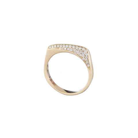 Pavé Wave Ring