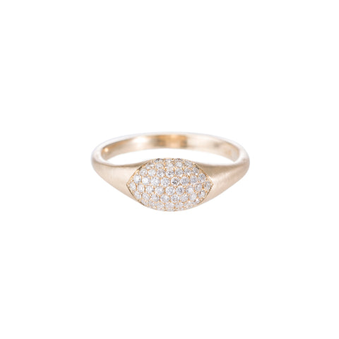 Pavé Bubble Ring