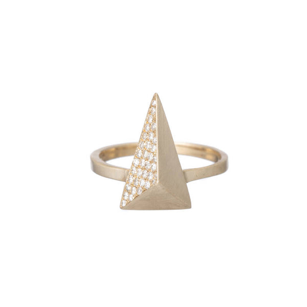 Pavé Pyramid RIng
