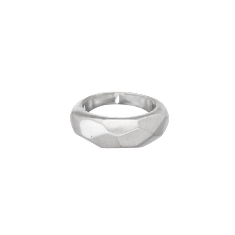 Faceted Dome Ring