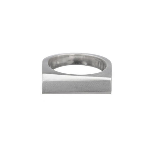 Heavy Angled Bar Ring