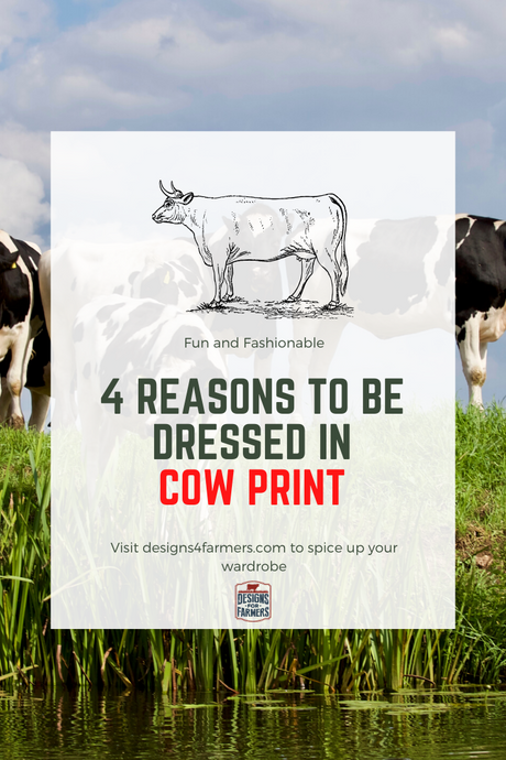 Four reasons to get dressed in Cow print