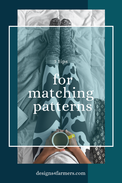 7 tips for matching patterns