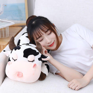Cute Milk Cow Cuddling Pillow