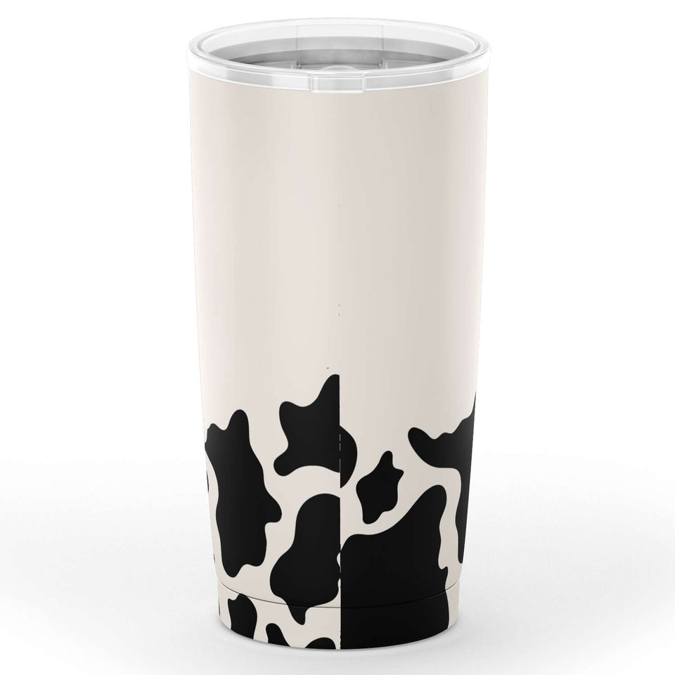Personalized Cow Tumbler