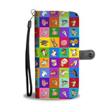 Funny Farm Animals Phone Wallet Case