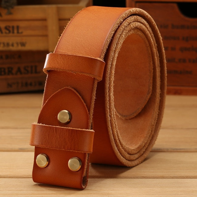 Belt from American leather
