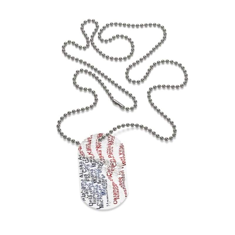 American Flag Dog Tag | Cow Loco